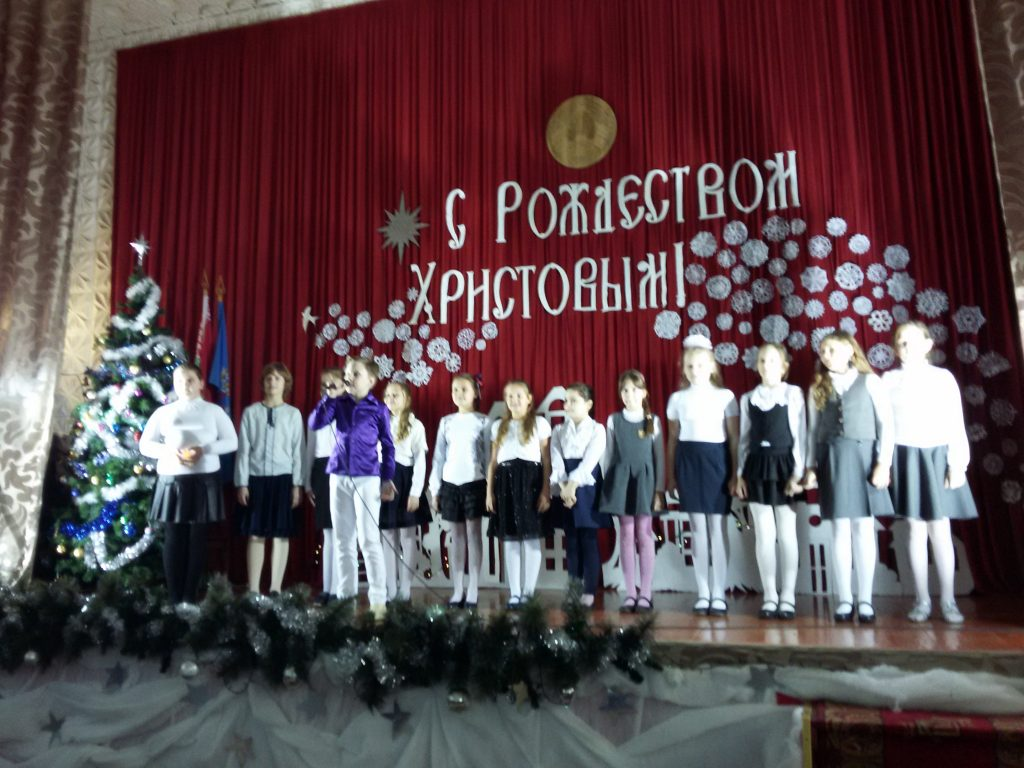 Рождественские встречи в гимназии №11 г. Минска