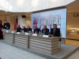Заседание Совета епископских конференции Европы (CCEE)